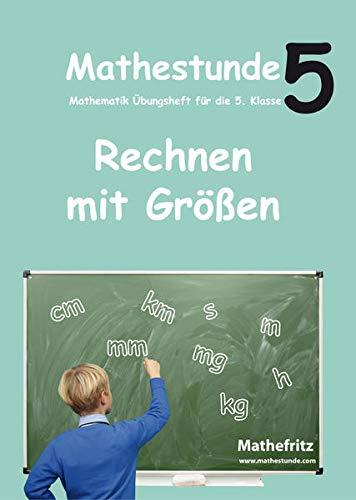Mathestunde 5 - Rechnen mit Grà Ãen: Jà rg Christmann