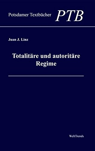 9783941880009: Totalit�re und autorit�re Regime