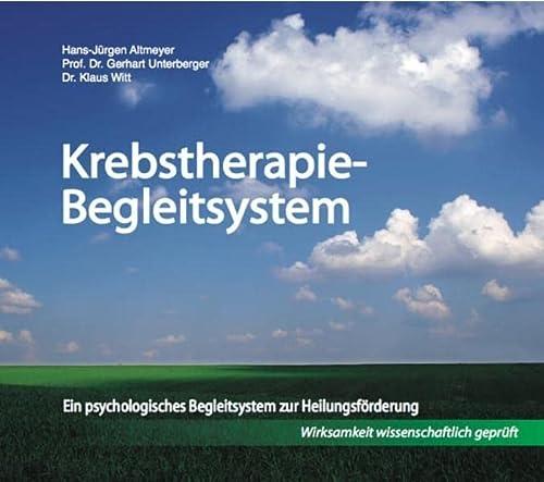 9783941903555: Krebstherapie-Begleitsystem, m. 3 Audio-CD, m. 1 Beilage
