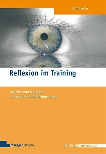 Reflexion im Training: J�rg Friebe
