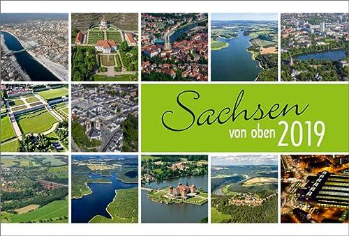 9783941977723: Sachsen von oben 2016: Luftaufnahmen