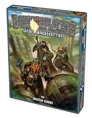 9783942012430: Dungeonslayers - Caera Kampagnensetting