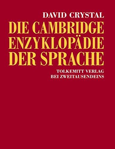 9783942048323: Die Cambridge Enzyklopädie der Sprache