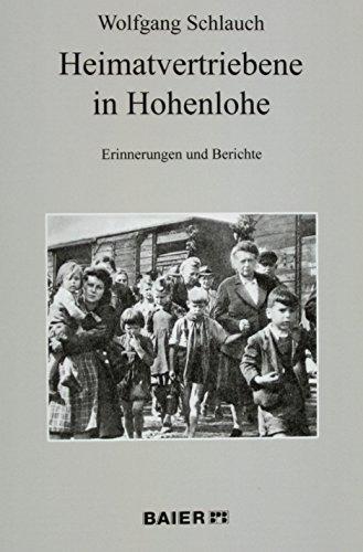 9783942081399: Heimatvertriebene in Hohenlohe