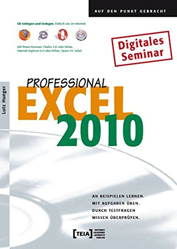 9783942151313: Excel 2010 Professional [import allemand]
