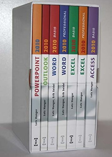 9783942151504: MS Office 2010 Gesamtausgabe: 7 Lehrbücher: Word 2010 Basis, Word 2010 Professional, Excel 2010 Basis, Excel 2010 Professional, Access 2010 Basis, PowerPoint 2010, Outlook 2010