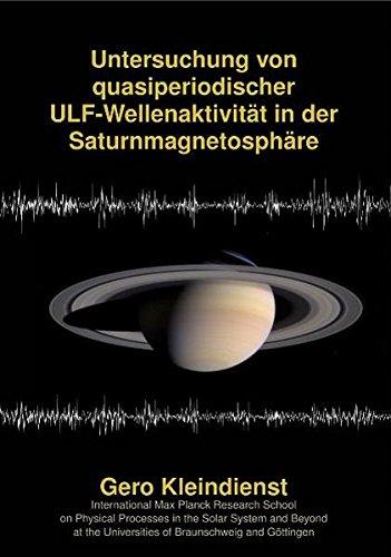 Untersuchung von quasiperiodischer ULF-Wellenaktivität in der Saturnmagnetosphäre: Gero ...