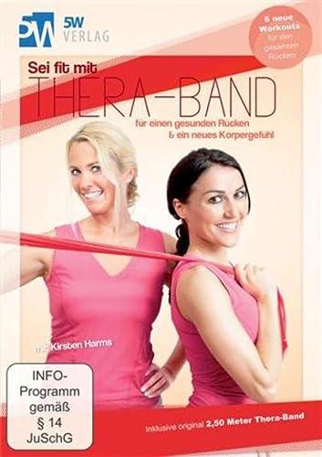 9783942177146: Sei fit mit Thera-Band - für einen gesunden Rücken & ein neues Körpergefühl (Inklusive original 2,50 Meter Thera-Band®) 6 neue Workouts für den gesamten Rücken [Alemania] [DVD]