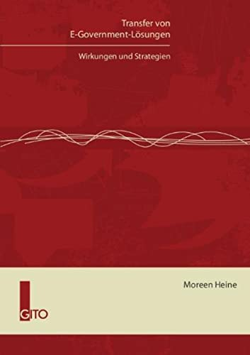 9783942183345: Transfer von E-Government-L�sungen: Wirkungen und Strategien