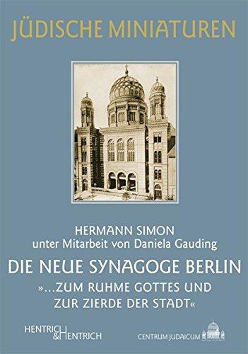 9783942271257: Die Neue Synagoge Berlin