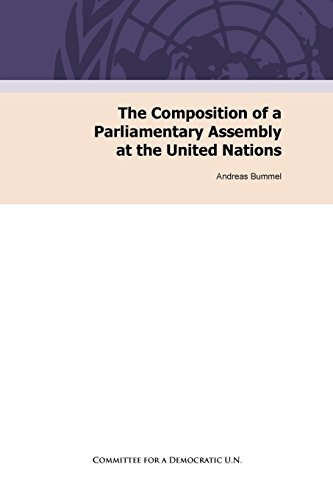9783942282048: The Composition of a Parliamentary Assembly at the United Nations