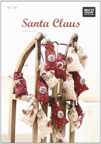 9783942284318: Santa Claus. Kreuzstich-Stickideen Weihnachten: zahlreiche Stickideen mit Anleitungen