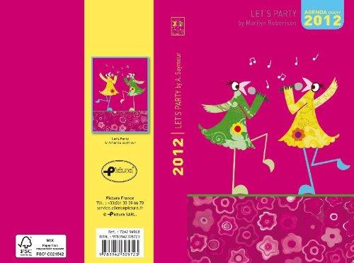 9783942305723: Let's Party 2012: Mini Tagebuch