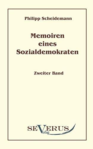9783942382540: Memoiren eines Sozialdemokraten, Zweiter Band
