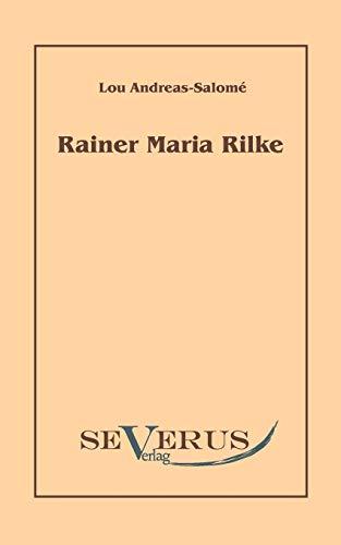 9783942382656: Rainer Maria Rilke (German Edition)