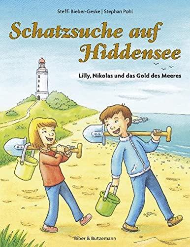 9783942428026: Schatzsuche auf Hiddensee - Lilly, Nikolas und das Gold des Meeres