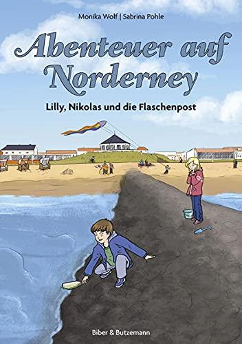 9783942428316: Abenteuer auf Norderney: Lilly, Nikolas und die Flaschenpost