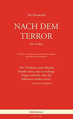 9783942472005: Nach dem Terror: Ein Traktakt;