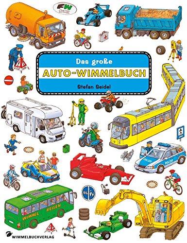 Das große Autowimmelbuch: Classic Edition: Seidel, Stefan