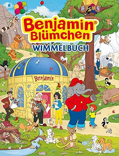 9783942491341: Benjamin Blümchen Wimmelbuch