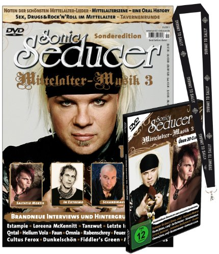 9783942515023: Sonic Seducer Sonderedition Mittelalter-Musik 3: Inkl. DVD mit über 20 Clips & Subway to Sally-Lanyard