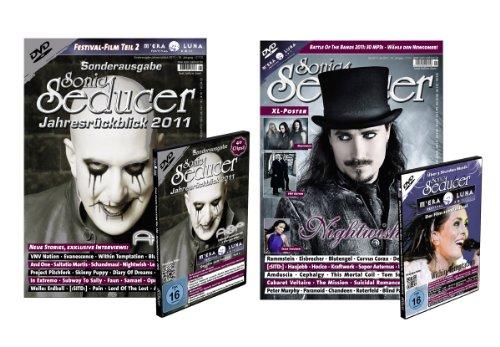 9783942515146: Sonic Seducer 11/12 + Sonic Seducer Jahresrückblick 2011 + M'Era Luna DVDs 2011