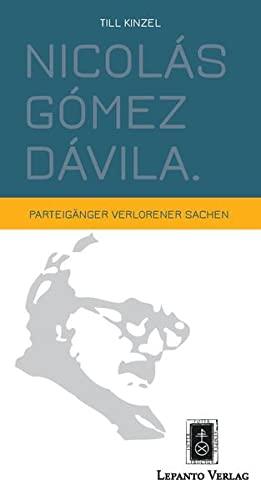 9783942605106: Nicolás Gómez Dávila