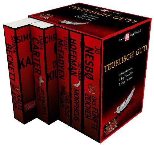 9783942656818: BamS Best of Mega-Thriller 2014- Box mit 5 Büchern: Das fünfte Zeichen, Das Böse in uns, Der Kruzifix-Killer, Morpheus, Kalte Asche