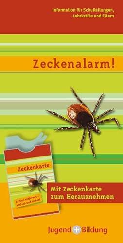 9783942708289: Zeckenalarm! mit Zeckenkarte