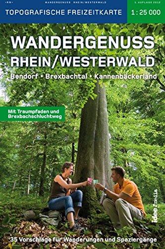 9783942779043: Wandergenuss Rhein / Westerwald 1 : 25 000: Bendorf. Brexbachtal. Kannenbäckerland. 35 Vorschläge für Wanderungen und Spaziergänge. Topografische Freizeitkarte