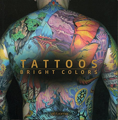 9783942860109: Tattoos Bright Colors (Spanish Edition)