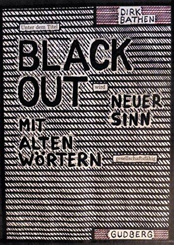 9783943061253: Blackout-Poems