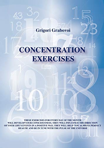 9783943110319: Concentration Exercises