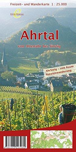 9783943123081: Freizeit- und Wanderkarte Ahrtal von Altenahr bis Sinzig 1 : 25 000