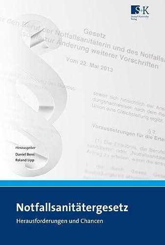 9783943174175: Notfallsanitätergesetz (NotSanG)