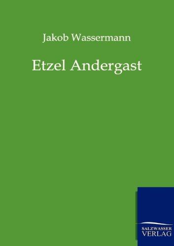 9783943185584: Etzel Andergast (German Edition)