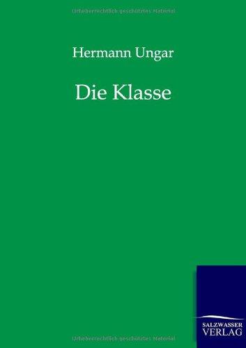 9783943185805: Die Klasse (German Edition)