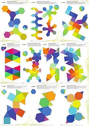 9783943205190: 'Cuerpo matemáticos Manualidades: Set de plantillas para 9tipo Arquímedes Cuerpo y kaleidozykel