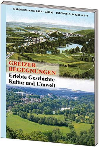 9783943210620: Greizer Begegnungen. Nr.1