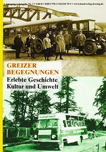 9783943210705: Greizer Begegnungen. Nr.3