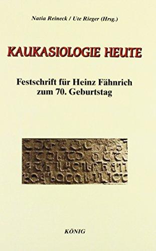 Kaukasiologie heute: Natia Reineck
