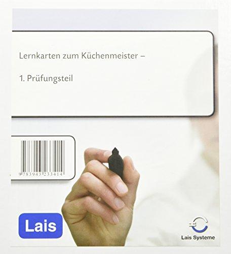 Lernkarten zum Küchenmeister - 1. Prüfungsteil
