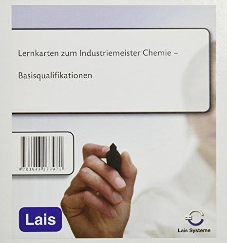 Lernkarten Industriemeister Chemie
