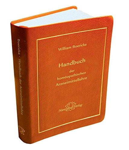 9783943309478: Handbuch der homöopathischen Arzneimittellehre: Taschenbuchausgabe