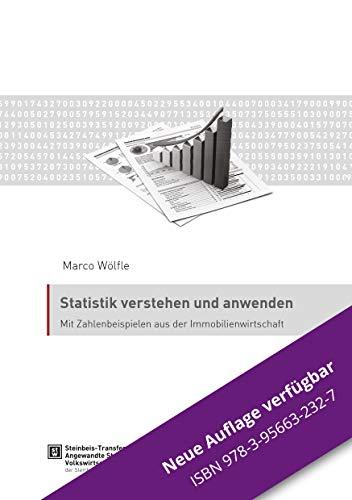 9783943356953: Statistik verstehen und anwenden