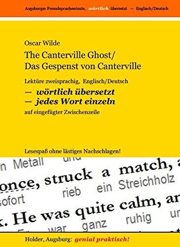 The Canterville Ghost - Das Gespenst Von Canterville: Wilde, Oscar