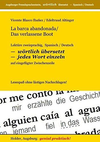 9783943394252: La Barca Abandonada / Das Verlassene Boot