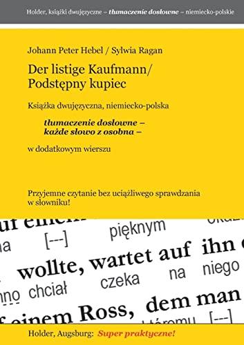 9783943394610: Der listige Kaufmann/Podstepny kupiec -- Ksiazka djuwezyczna, niemiecko-polska (Polish Edition)