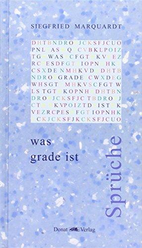 dazwischen irgendwo: Gedichte: Marquardt, Siegfried