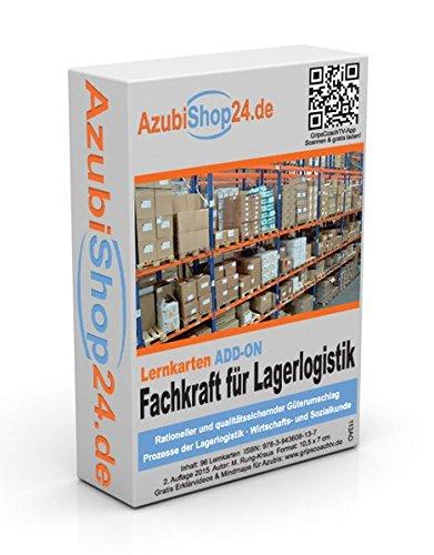 9783943608137: AzubiShop24.de Lernkarten ADD-ON IHK-Abschlussprüfung Fachkraft für Lagerlogistik